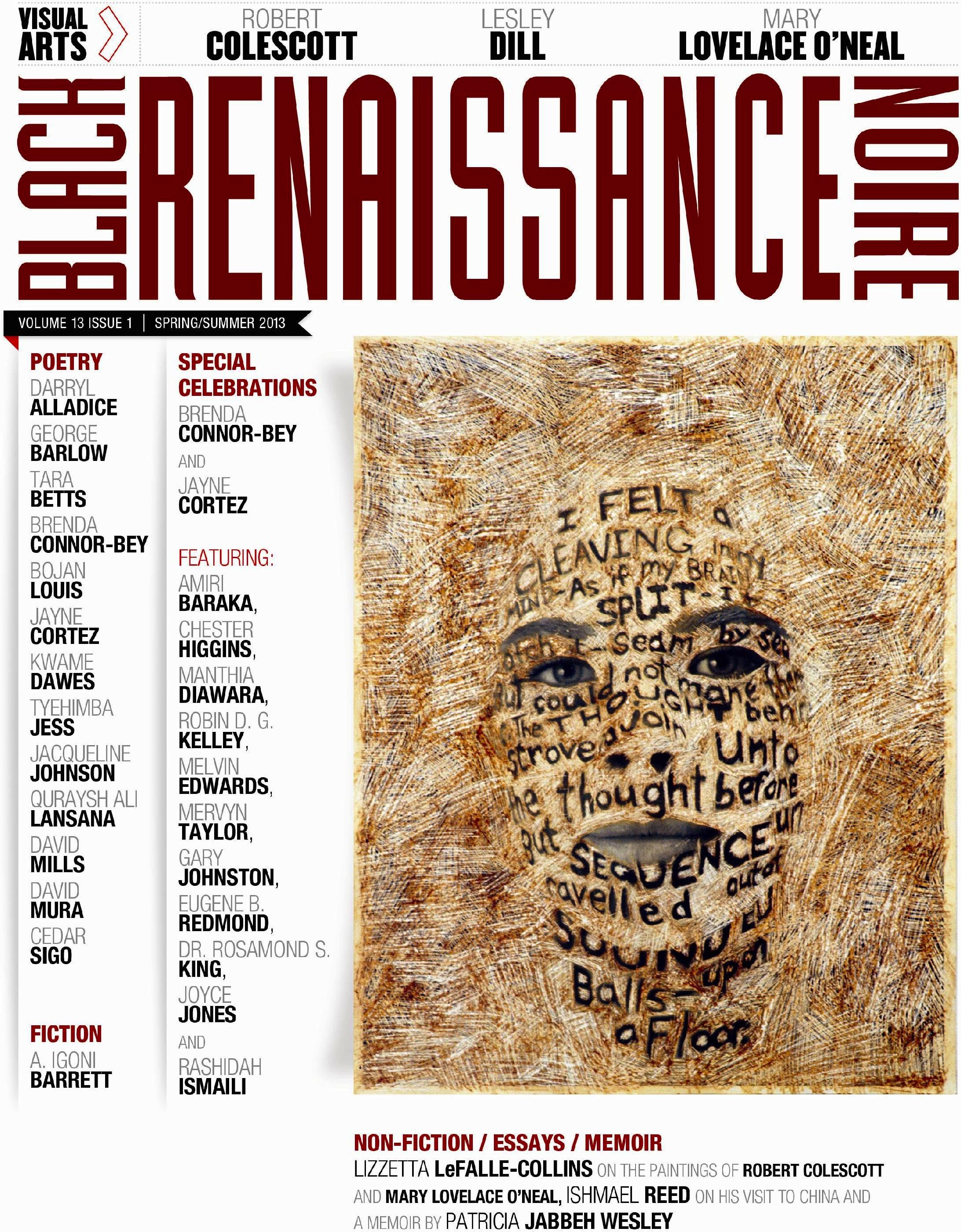 Black Renaissance Noire Readings Amp Reception For Spring
